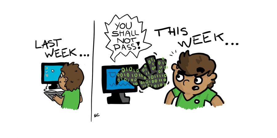 Comic: The Great Firewall