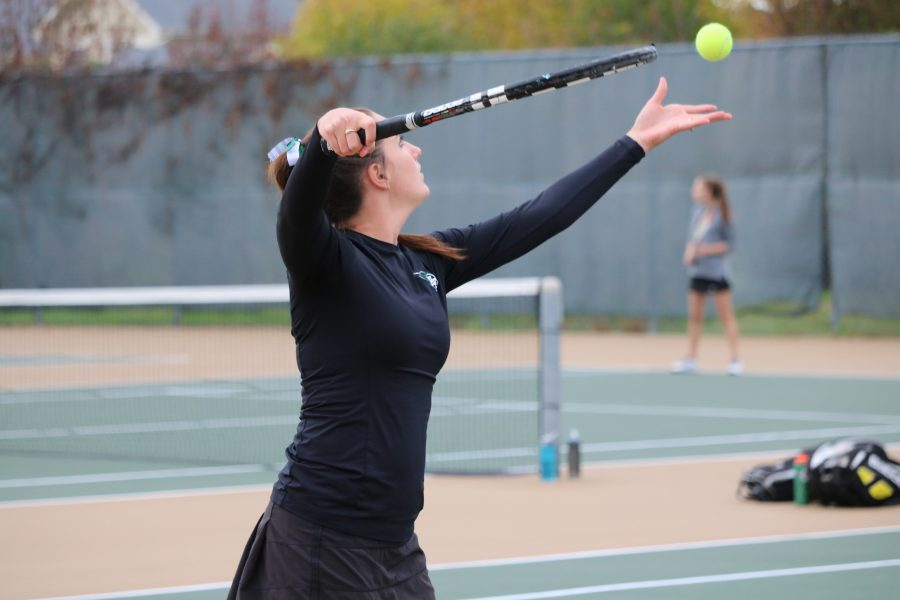 Tennis team state bound for third consecutive year
