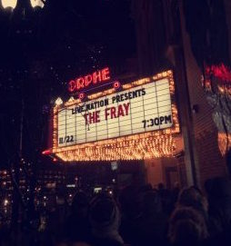 The Fray don't disappoint on snowy night