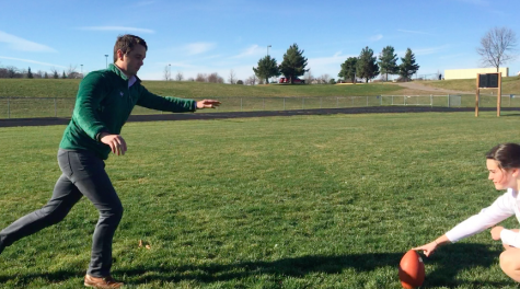 Can students and staff kick FGs as well as Blair Walsh?