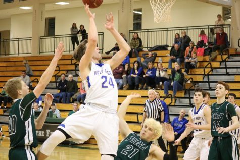 Slideshow: Fire defeat Holy Angels 69-67