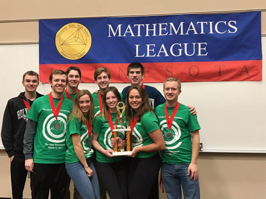 Math League takes second in bracket at state tournament