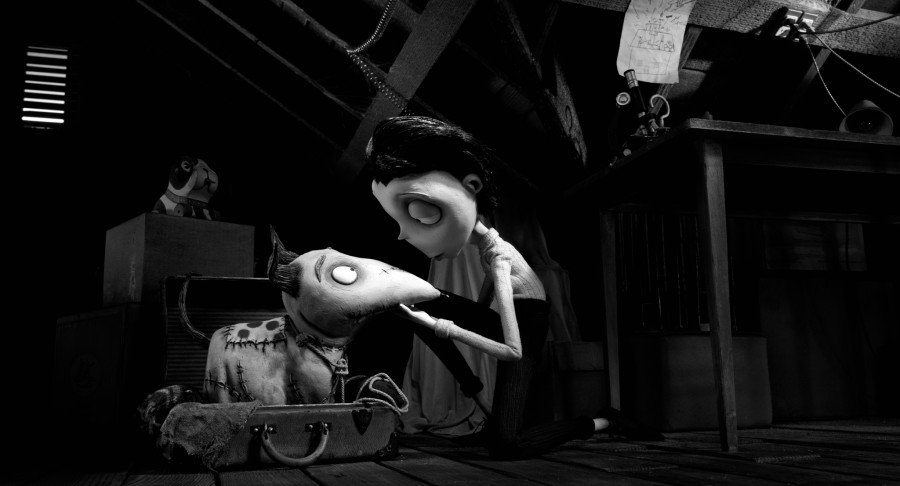 Frankenweenie   (L-R) SPARKY and VICTOR.  ©2012 Disney Enterprises, Inc. All Rights Reserved.