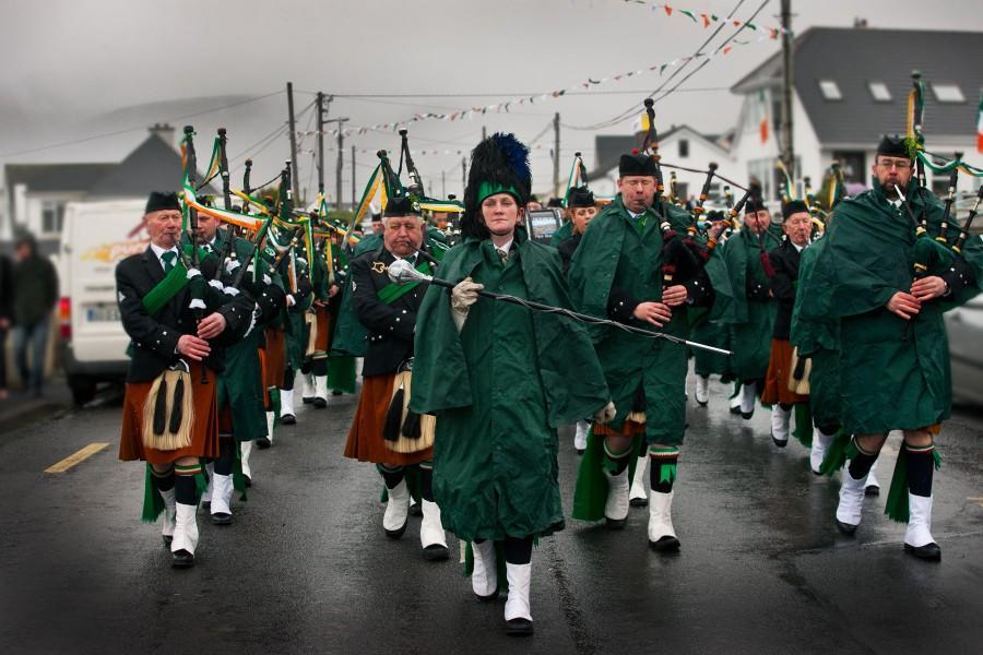 Achill Island Ireland Saint Patrick's Day Parade