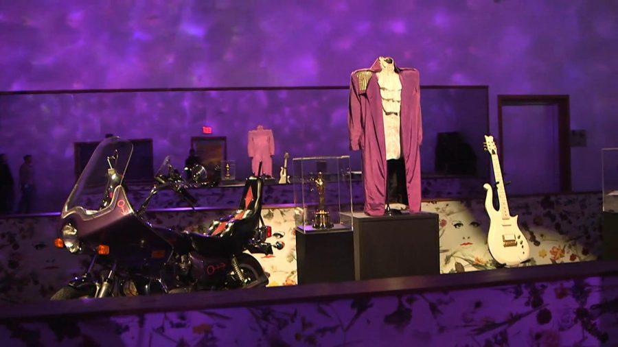 Prince Memorabilia on display