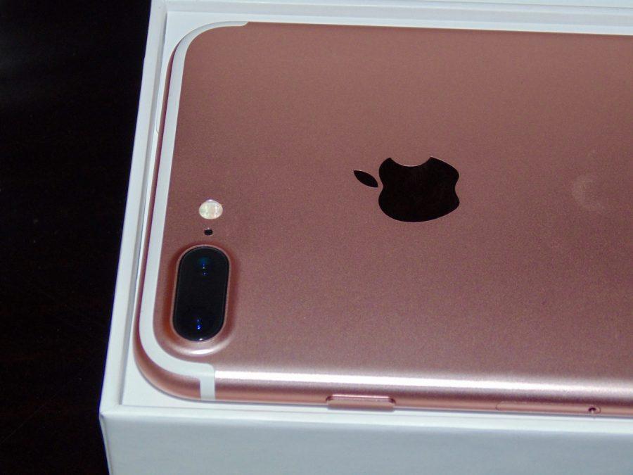 iPhone 7 Plus dual camera.