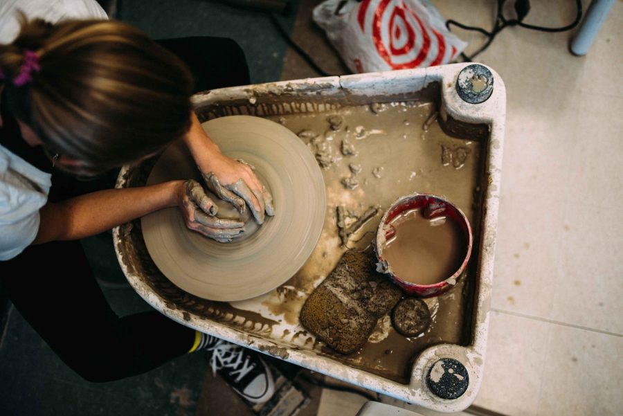 Student artists contribute to Empty Bowls fundraiser