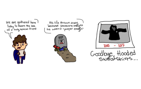 Comic: RIP Sweatshirts