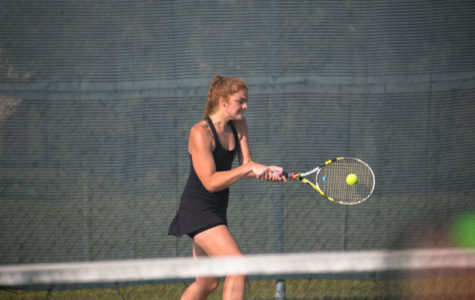Tennis team qualifies for 4th state tournament in a row