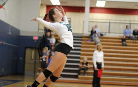 Volleyball season turns corner with two clean sweeps