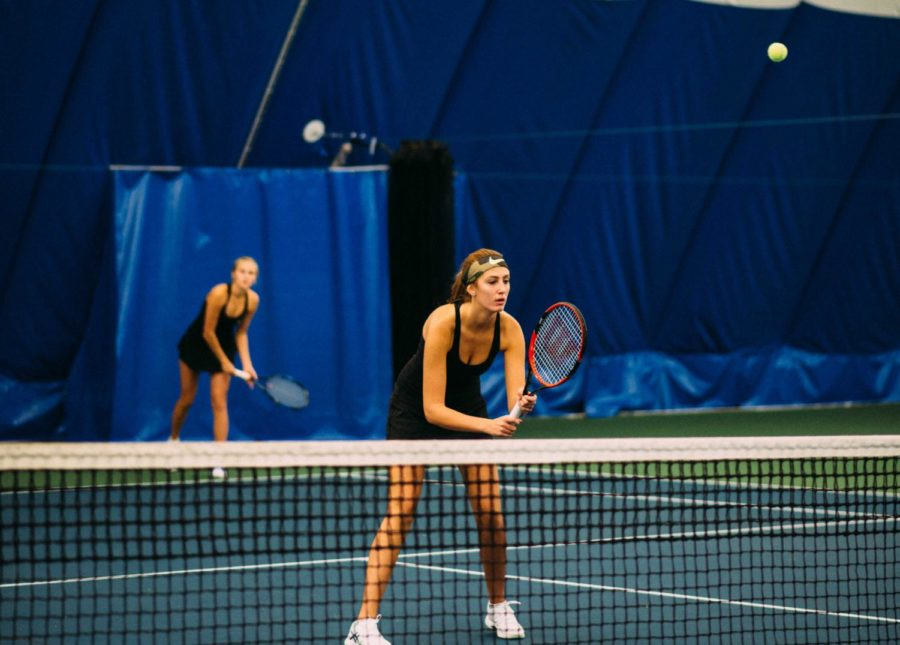 Tennis finishes 2nd at state tournament