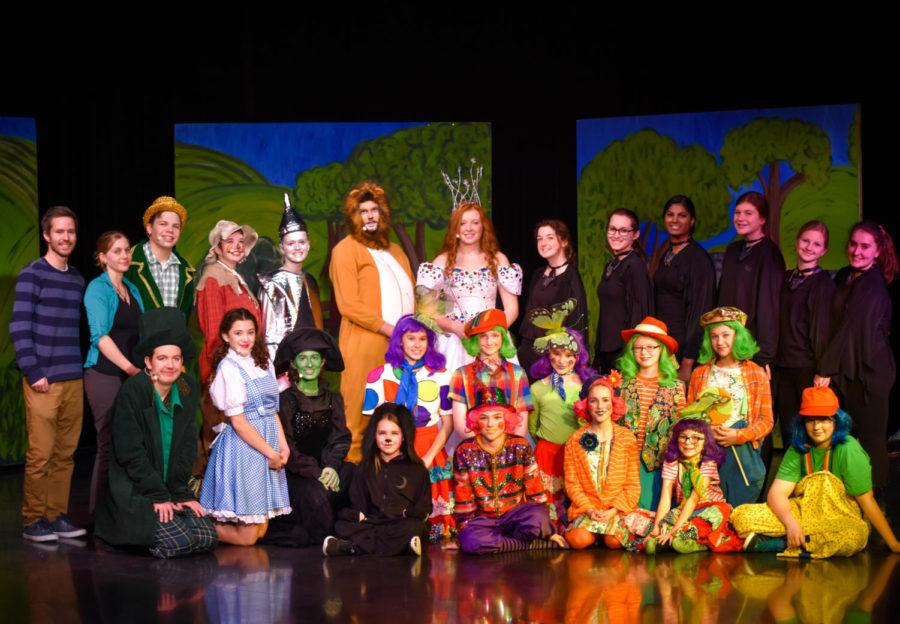 Cast and crew come together for a successful production of The Wizard of Oz