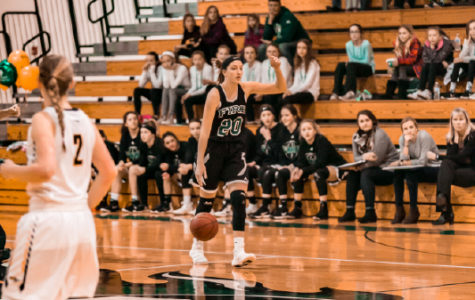 Holy Family Varsity Girls Basketball vs. Hutchinson Feb 23, 2018: Leigh Steiner '19 (20)
