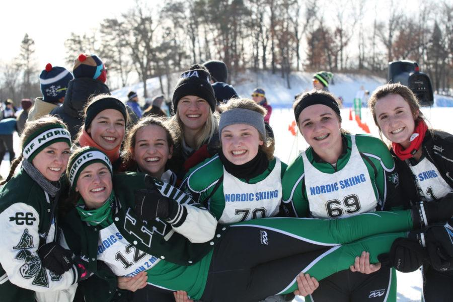Maggie Mahota qualifies for State Nordic Meet