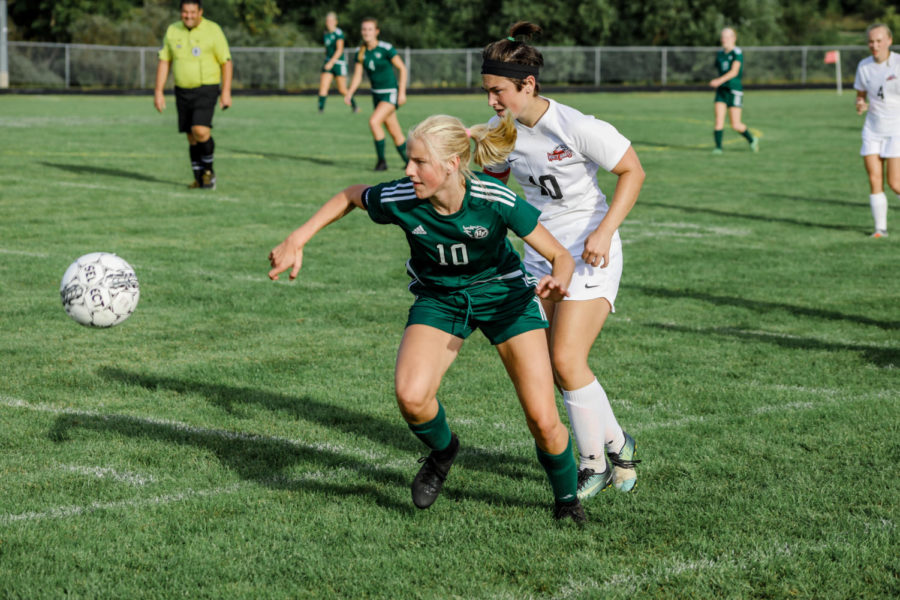 Slideshow: Girls Soccer VS. Mound Westonka