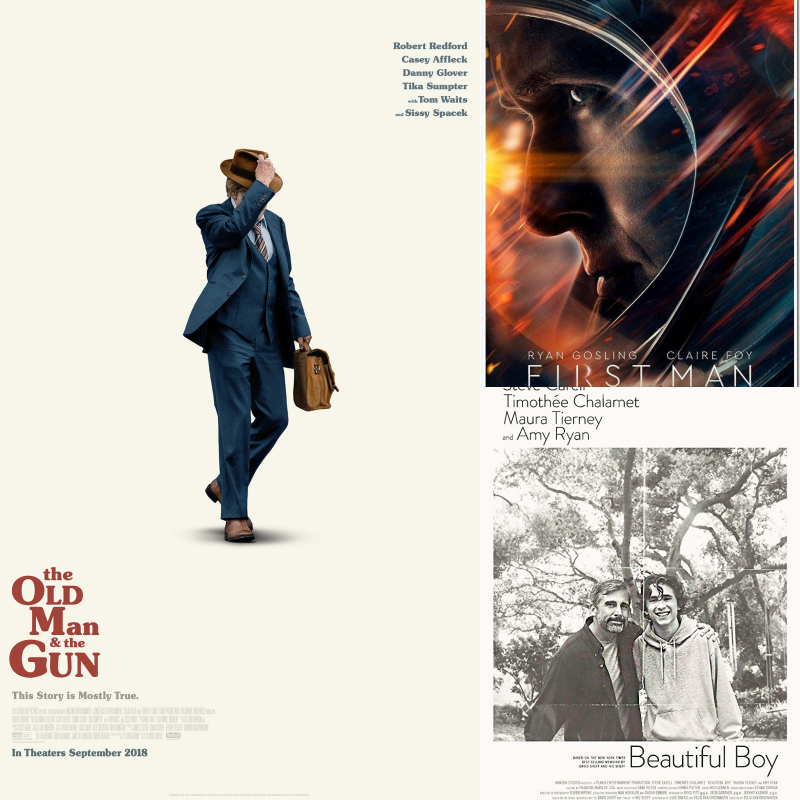 Movie Review: 'First Man' 'The Old Man and The Gun' and more