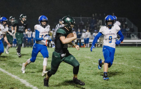 Holy Family Shuts out St. Cloud on Homecoming