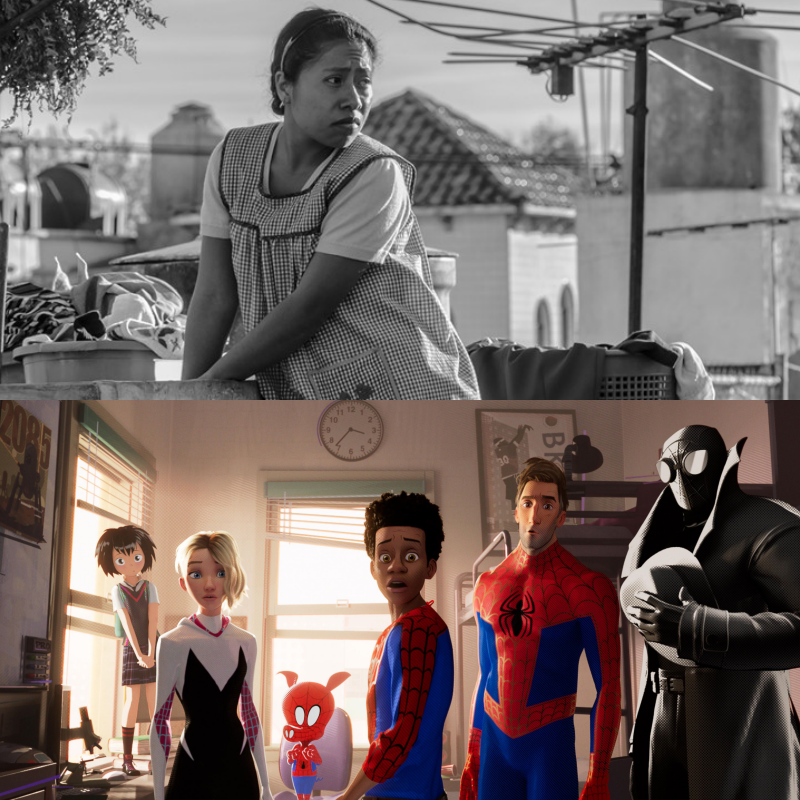 Movie Review: 'Roma' 'Into the Spider-Verse' are two of the years best movies