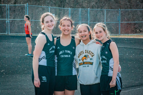 Holy Family Fire Hosts WCC Track Meet
