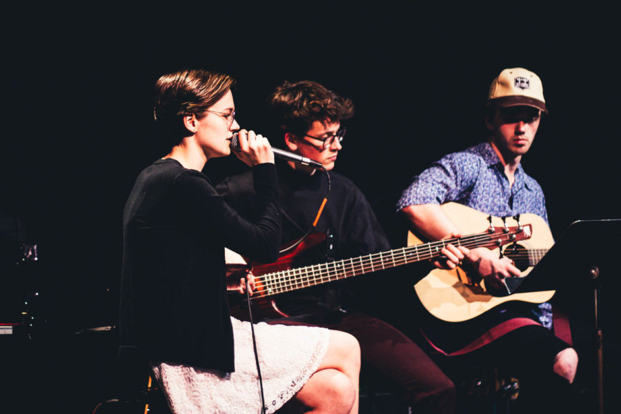 Spring Coffee House: Eve Breimhorst, Anthony Olson, Carson Liebeg
