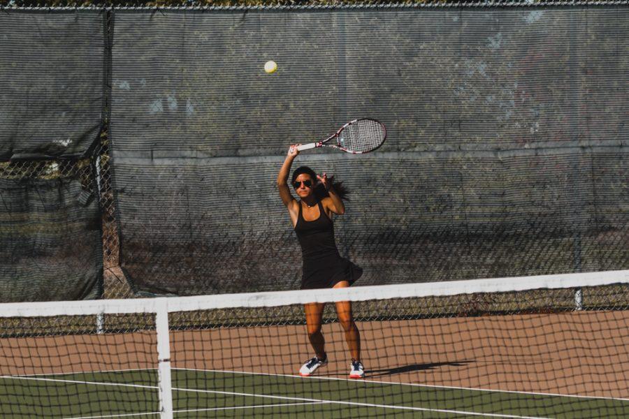 Holy Family Tennis vs. Jordan, 8/29/19: Lauren Taylor 21