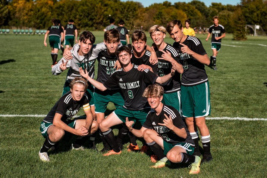 Holy Family Boys Varsity Soccer vs Monticello: