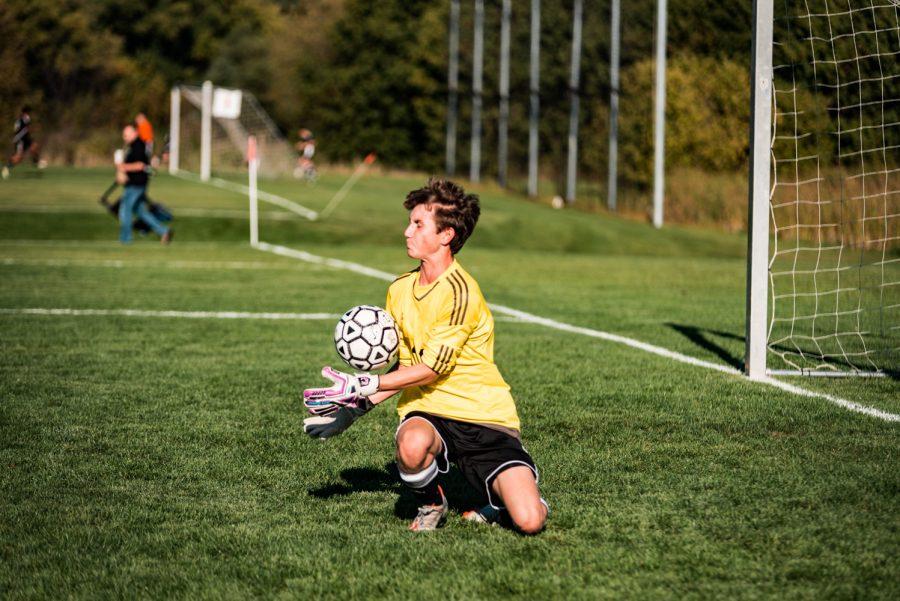 Holy Family Boys Varsity Soccer vs Monticello: Jacob Teeter '20