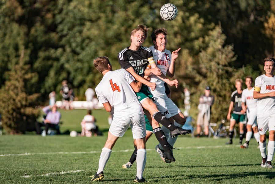 Holy Family Boys Varsity Soccer vs Monticello: Bennett Creager (10) '20