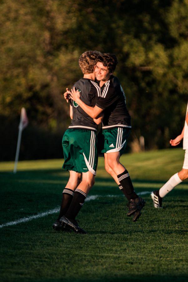 Holy Family Boys Varsity Soccer vs Monticello: Eric Oconitrillo (18) '23 Ryder Ferguson (5) '22
