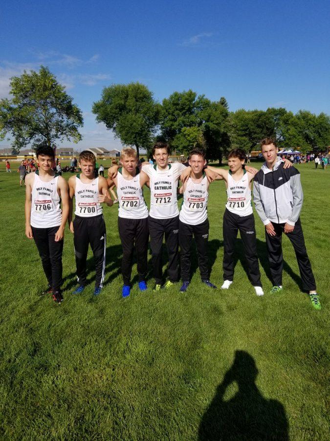 Holy Family Boys Cross Country Team