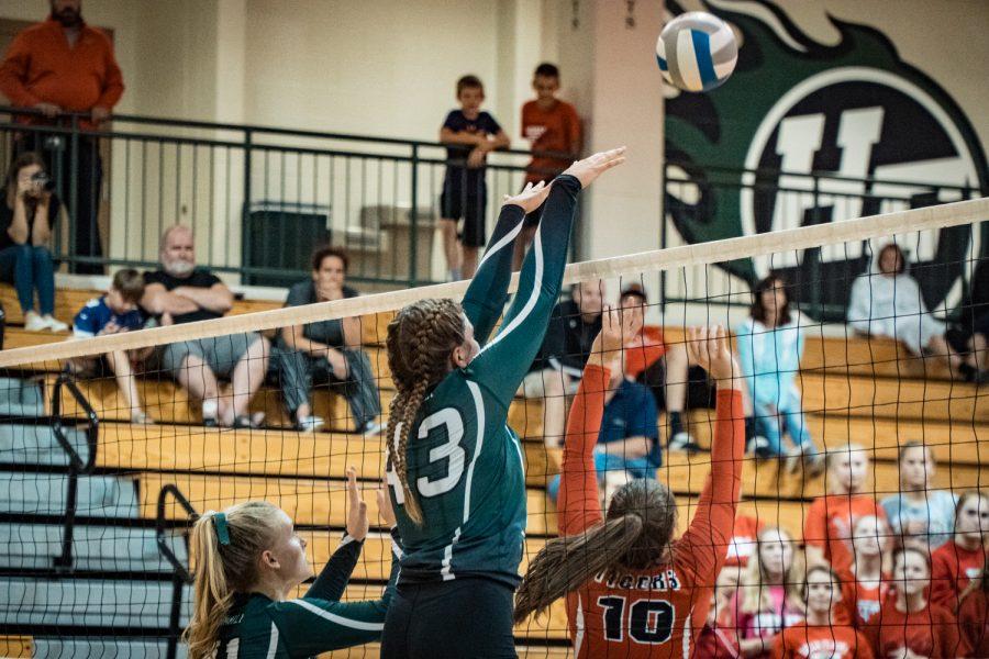 Girls Varsity Volleyball vs Belle Plaine: Kalie Dahl (43) '20