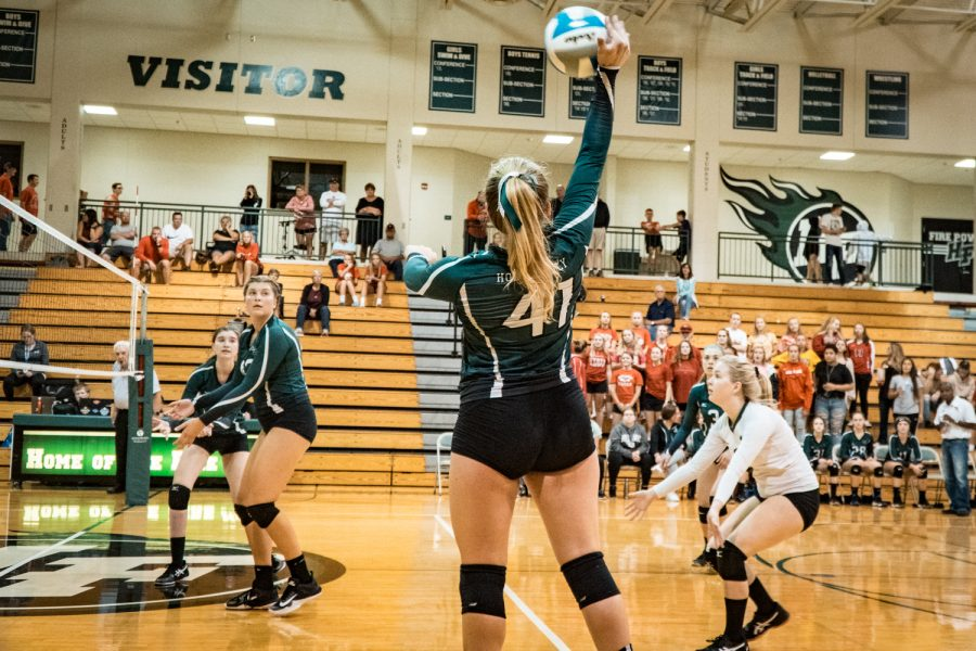 Girls Varsity Volleyball vs Belle Plaine: Abby Smith (41) '20