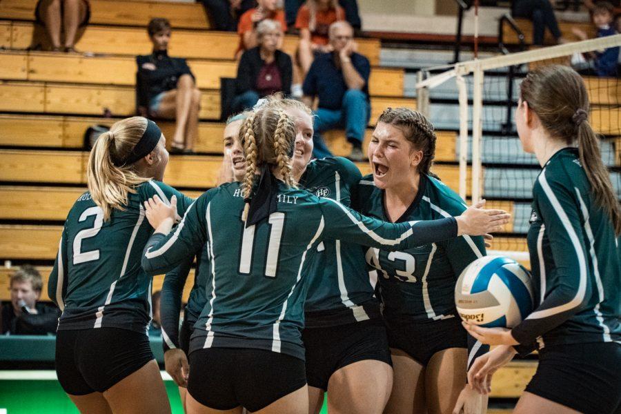 Girls Varsity Volleyball vs Belle Plaine:
