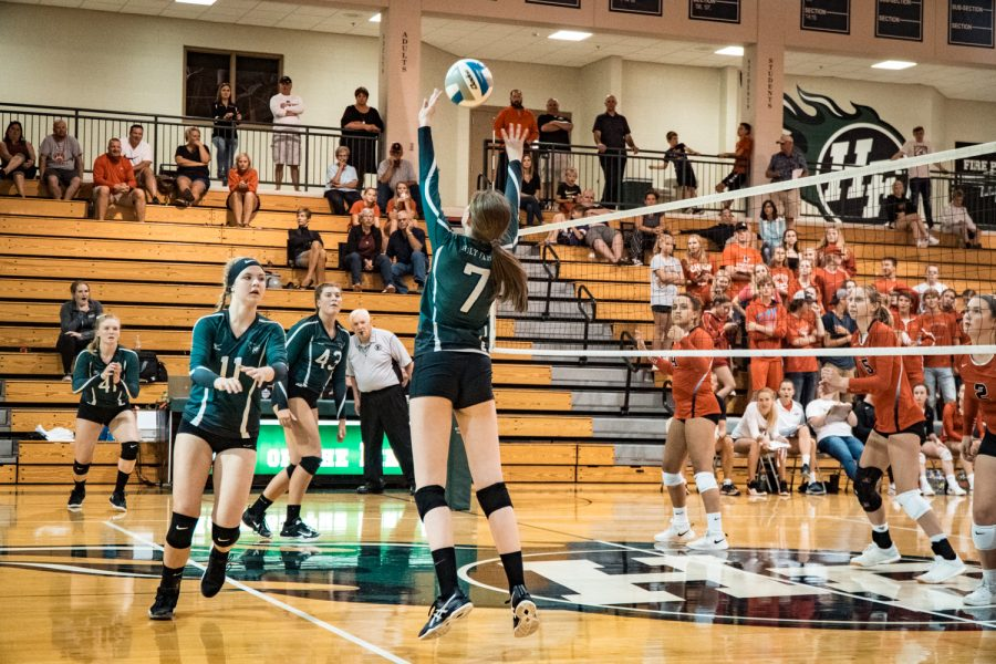 Girls Varsity Volleyball vs Belle Plaine: Kathryn Jans (7) '20