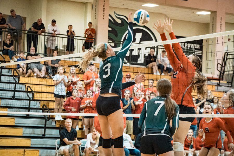 Girls Varsity Volleyball vs Belle Plaine: Lizzie Guggemos (3) '22