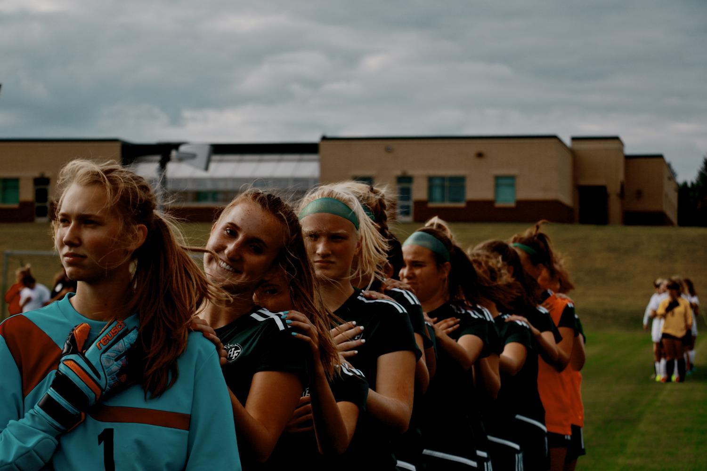 Holy Family Girls Varsity Soccer vs Chaska