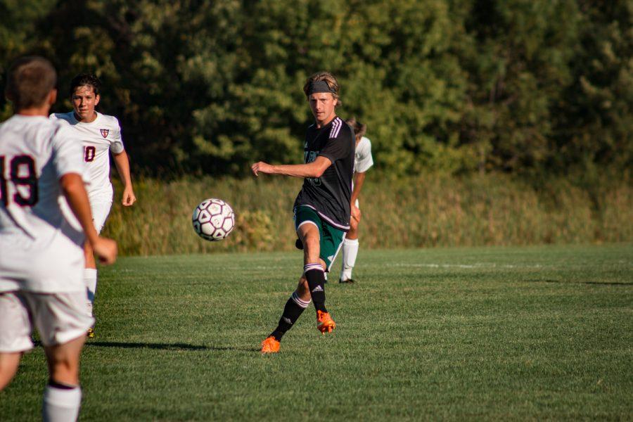 Holy Family Boys Varsity Soccer vs Fargo Shanley 8/6/19: