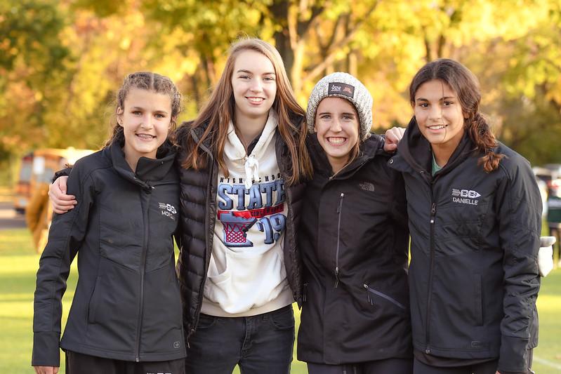 HF Girls' Cross Country Team