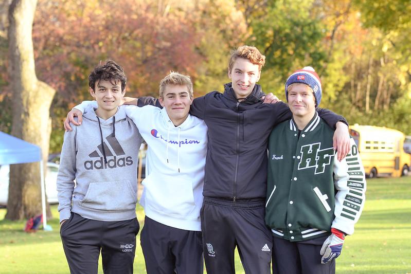 HF Boys' Cross Country Team