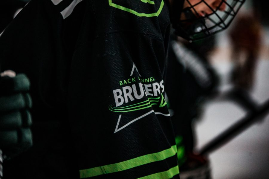 Back Channel Bruisers during a hockey game where The Bruisers' fell to Maple Grove 4-2 on Saturday, November 14, 2020 at St. Louis Park Recreation Center. Collin Nawrocki / The Phoenix