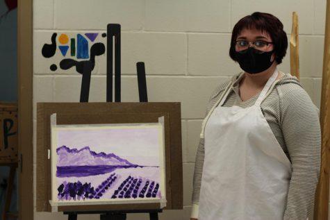 Ms. MacDonald will be teaching plein air painting.
