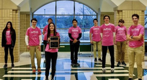 Math League Wins State Tournament