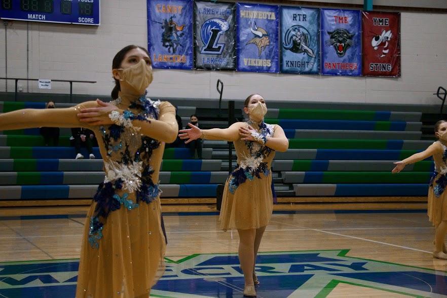 Holy Family JV Jazz Dance Team-Mia Worrell '24, and Sophia Schlegel '24-Arden Schlegel The Phoenix