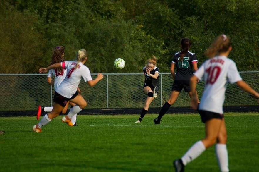 Holy Family Varsity Girls Soccer-Katie Anseth '22-Arden Schlegel The Phoenix