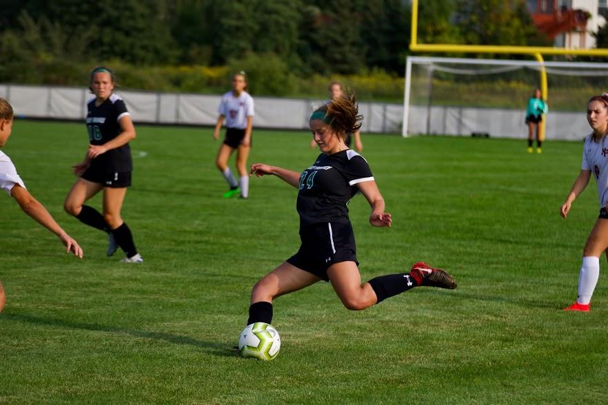 Holy Family Varsity Girls Soccer-Reyana Schaffer '21-Arden Schlegel The Phoenix