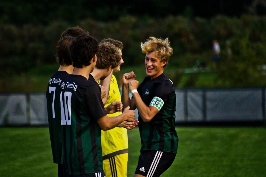 Holy Family Varsity Boys Soccer-Bishop Schugel '21-Arden Schlegel The Phoenix