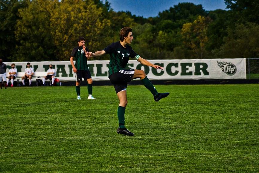 Holy Family Varsity Boys Soccer-Finn Dowling '21-Arden Schlegel The Phoenix
