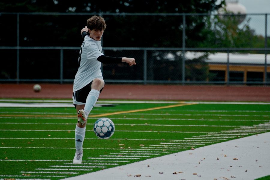 Holy Family Varsity Boys Soccer-Joseph Maher '23-Arden Schlegel The Phoenix