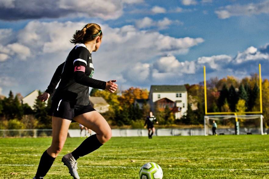 Holy Family Varsity Girls Soccer-Sophie Paul '21-Arden Schlegel The Phoenix